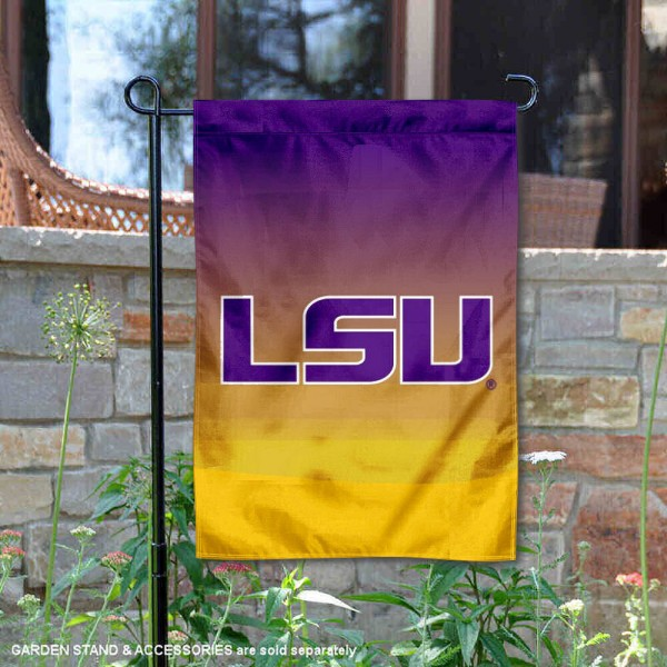 Louisiana State LSU Tigers Two Tone Garden Banner