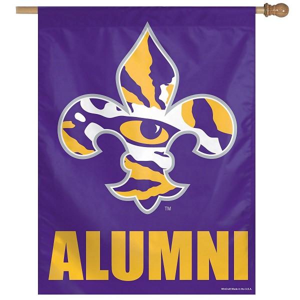 Louisiana State Tigers Alumni Banner Flag