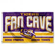 Louisiana State Tigers Man Cave Dorm Room 3x5 Banner Flag