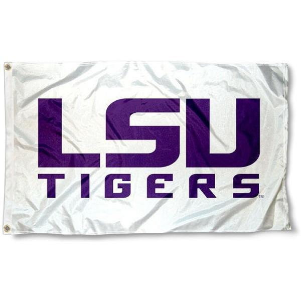 Louisiana State Tigers White Flag