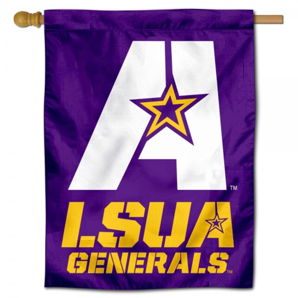 Louisiana State University at Alexandria House Flag