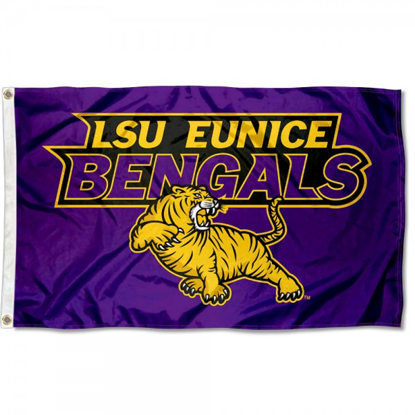 Louisiana State University Eunice Flag