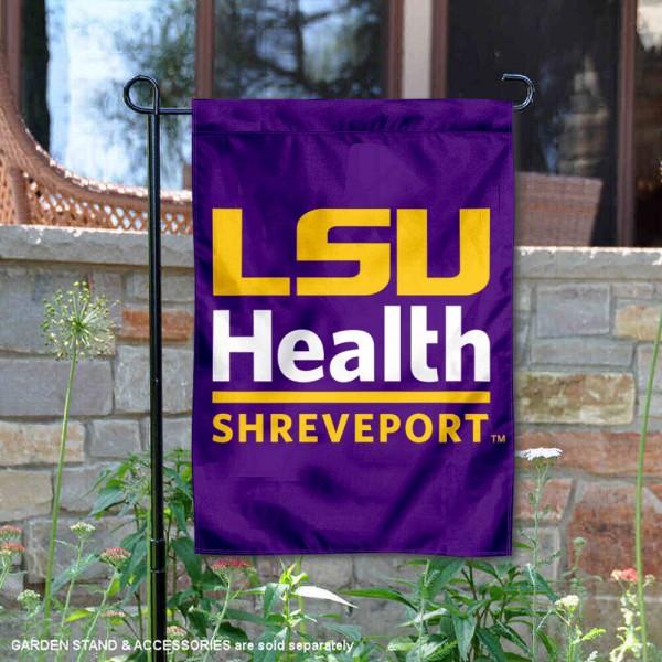 Louisiana State University Health Sciences Center Shreveport Double Sided Garden Flag