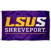 Louisiana State University Shreveport Flag
