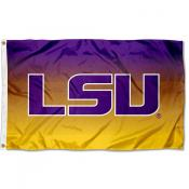 Louisiana State University Two Tone Color Flag