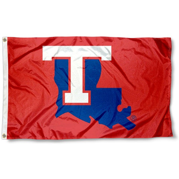 Louisiana Tech Bulldogs Flag