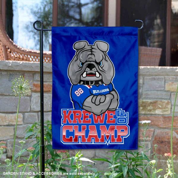 Louisiana Tech Bulldogs Mascot Garden Flag