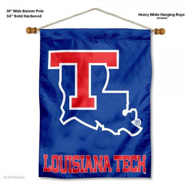 Louisiana Tech Bulldogs Wall Hanging