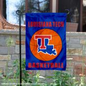 Louisiana Tech University Basketball Garden Flag