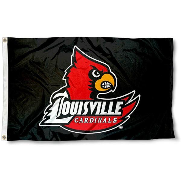 Louisville Cardinal Blackout Flag
