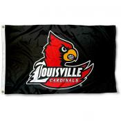 Louisville Cardinal Blackout Flag