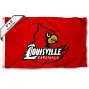 Louisville Cardinals 4'x6' Flag