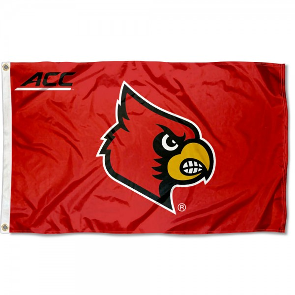 Louisville Cardinals ACC Flag
