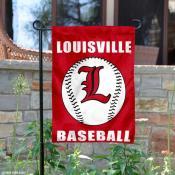 Louisville Cardinals Baseball Garden Flag