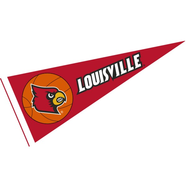 Louisville Cardinals Basketball Pennant