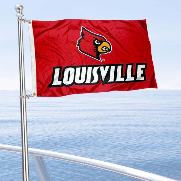 Louisville Cardinals Boat Nautical Flag