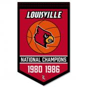 Louisville Cardinals College Basketball National Champions Banner
