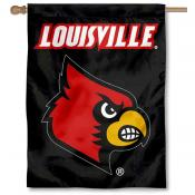 Louisville Cardinals Double Sided House Flag