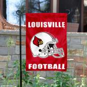 Louisville Cardinals Football Garden Flag
