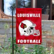 Louisville Cardinals Football Garden Flag