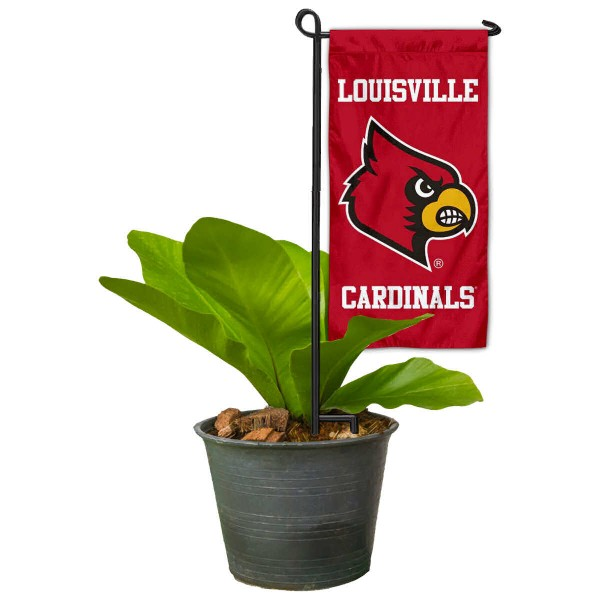 Louisville Cardinals Mini Garden Flag and Table Topper