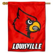 Louisville Cardinals Polyester House Flag