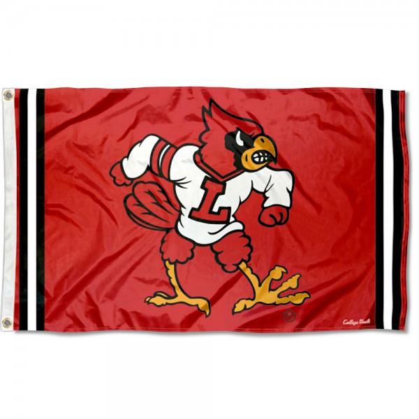 Louisville Cardinals Retro Vintage 3x5 Feet Banner Flag
