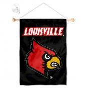 Louisville Cardinals Small Wall and Window Banner