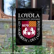 Loyola Chicago Ramblers Insignia Double Sided Garden Flag