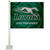 Loyola Maryland Greyhounds Car Flag