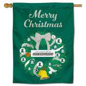Loyola Maryland Greyhounds Christmas Holiday House Flag