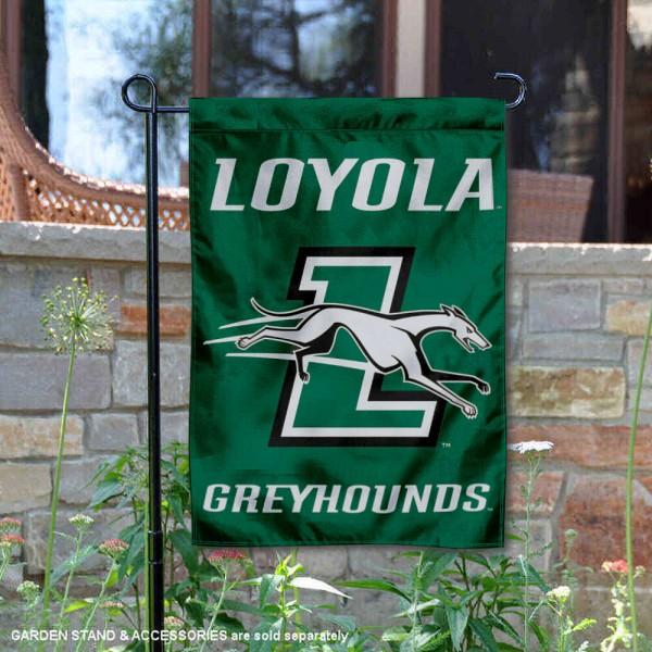 Loyola Maryland Greyhounds Garden Flag