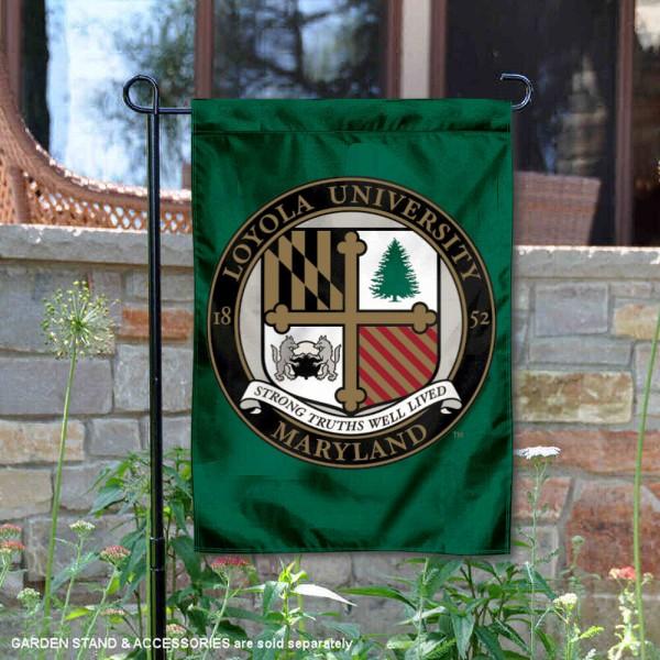 Loyola Maryland Greyhounds Insignia Double Sided Garden Flag