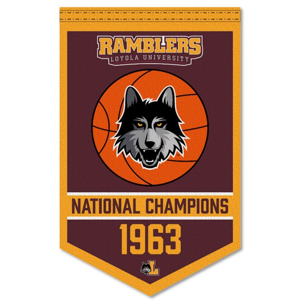 Loyola Ramblers College Basketball National Champions Banner