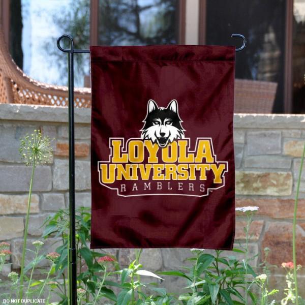 Loyola Ramblers Garden Flag
