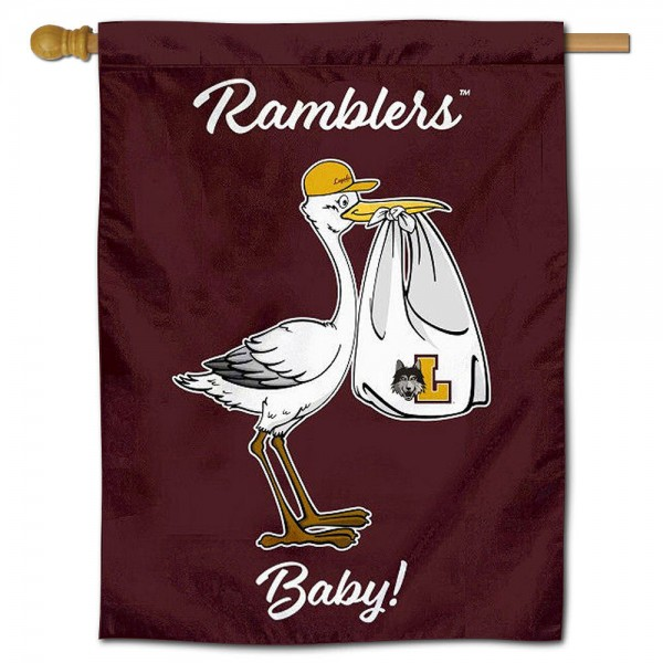 Loyola Ramblers New Baby Banner
