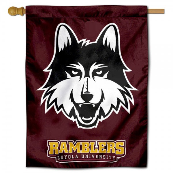 Loyola University House Flag