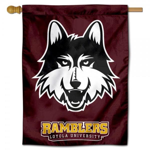 Loyola University House Flag