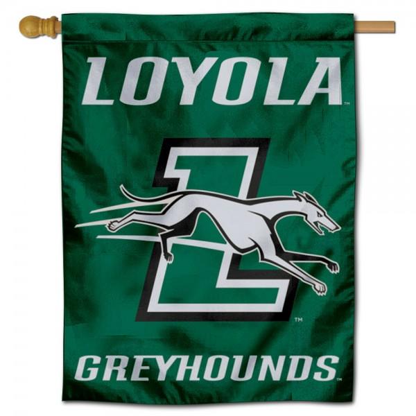 Loyola University Maryland House Flag