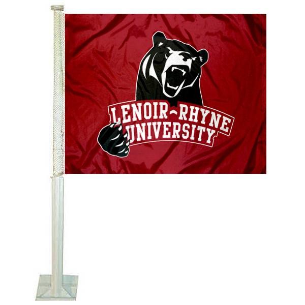 LR Bears Car Flag