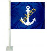 LSSU Lakers Logo Car Flag