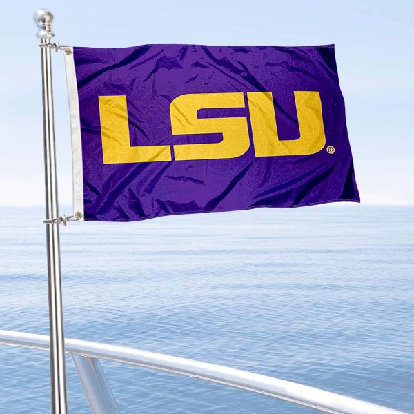 LSU Boat Flag