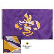 LSU Fleur Appliqued Nylon Flag