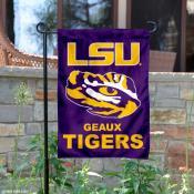 LSU Geaux Garden Flag
