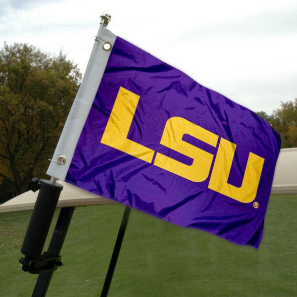 LSU Golf Cart Flag