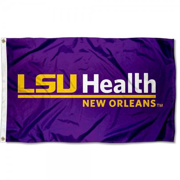 LSU Health New Orleans Flag