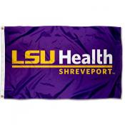 LSU Health Shreveport Logo Flag