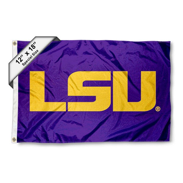 LSU Mini Flag