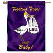 LSU New Baby Banner