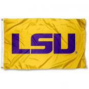 LSU Official Gold Flag